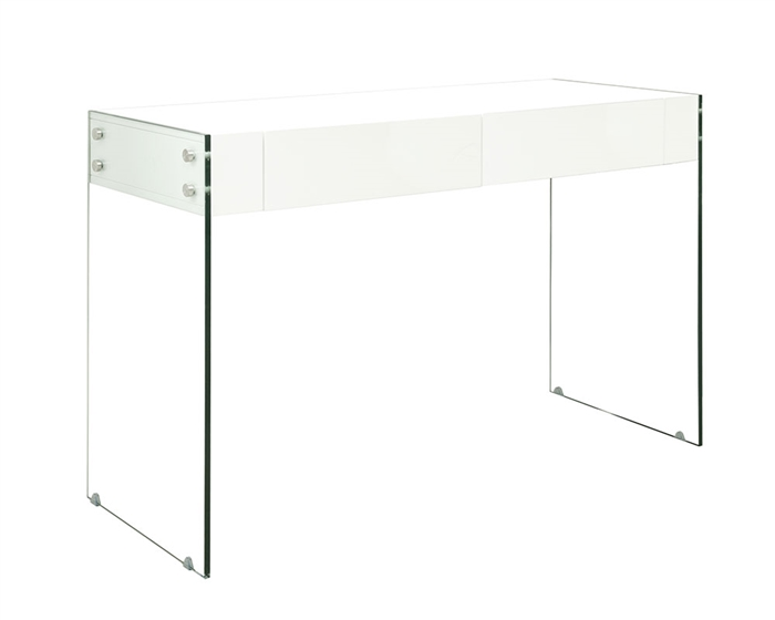 An Ultra Modern Multi Use Console Table With Gl Legs At Mh2g