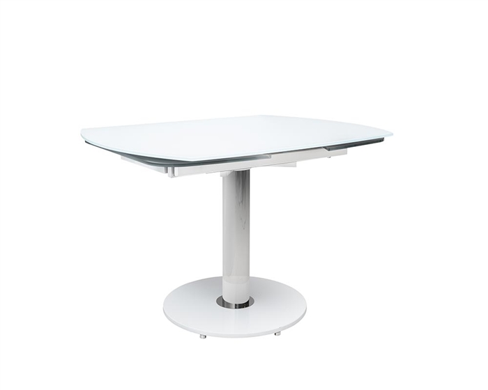 Saturn Rotating Modern Gl Dining Table