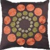 Dots Circle Decorative Pillow