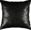 Black Cosmopolitan Sequin Pillow- $