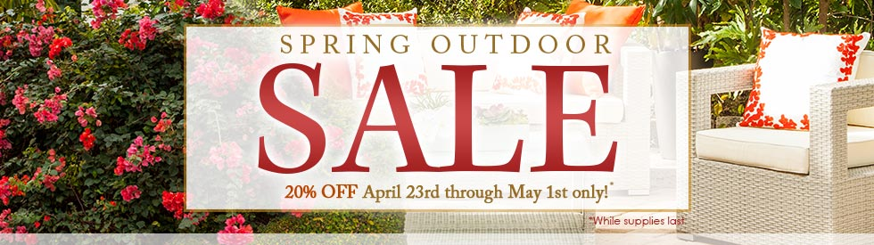 Modern Furniture Spring Outdoor Sale l Modern home 2 go Furniture Store- April Fools